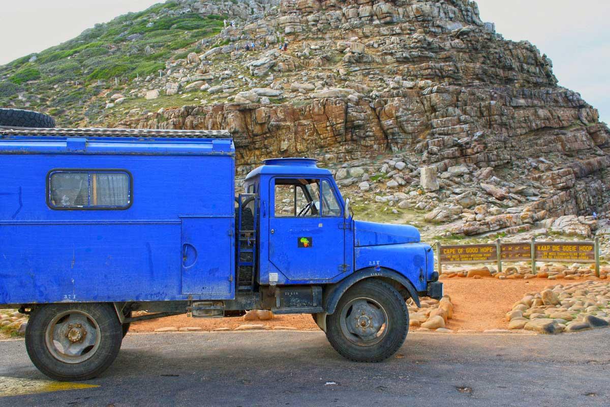 Mit dem Hanomag am Kap der guten Hoffnung
