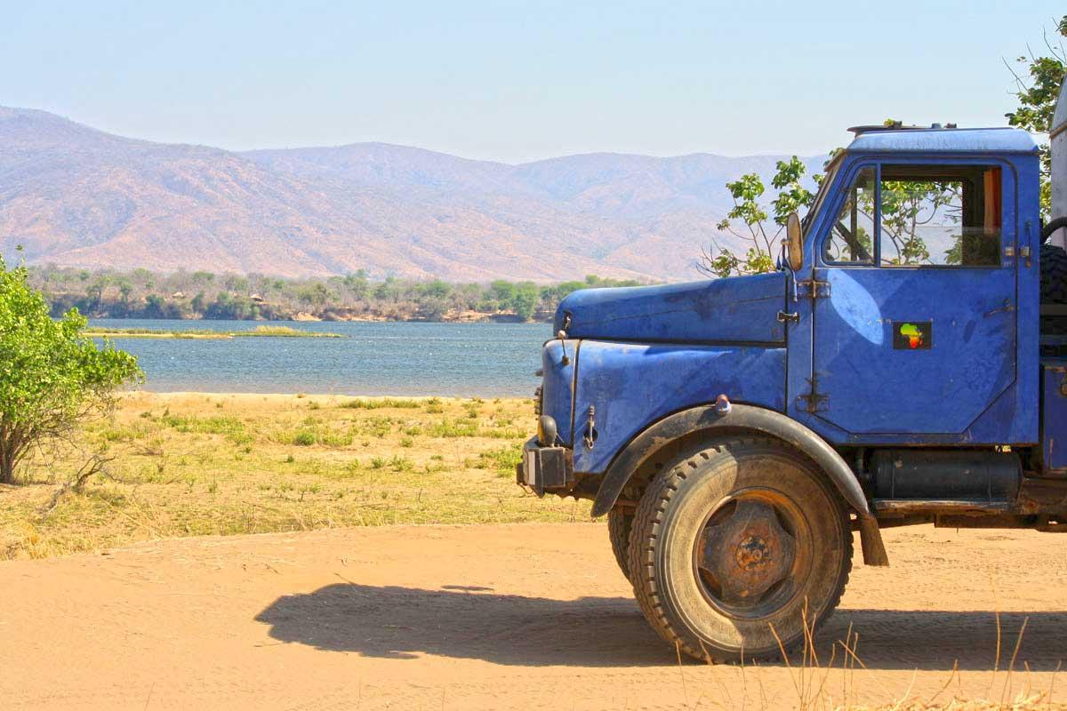 im Mana Pools Nationalpark, Simbabwe