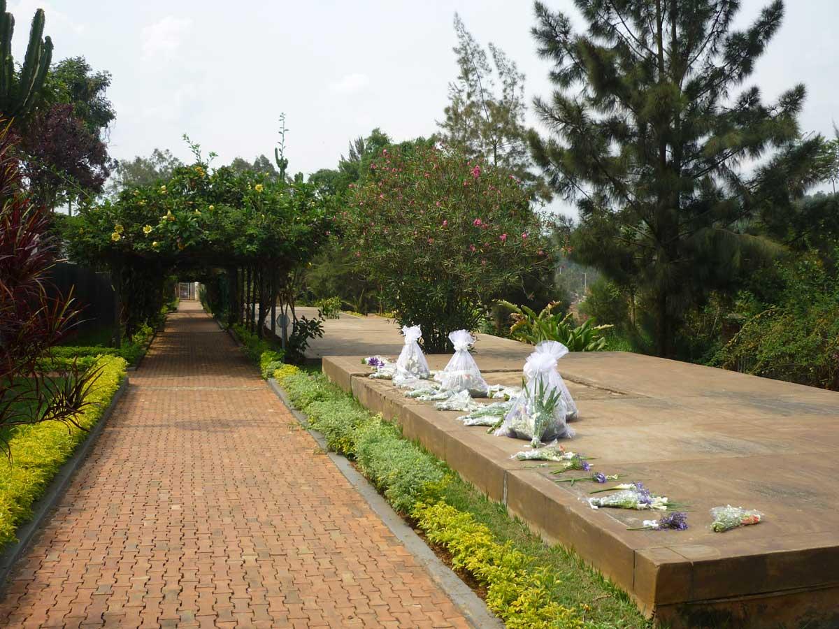 Genozid Memorial in Kigali, Ruanda