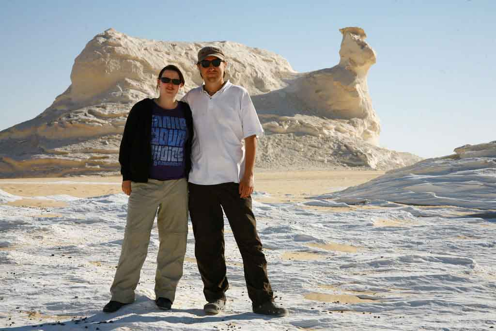 in der weißen Wüste, Ägypten