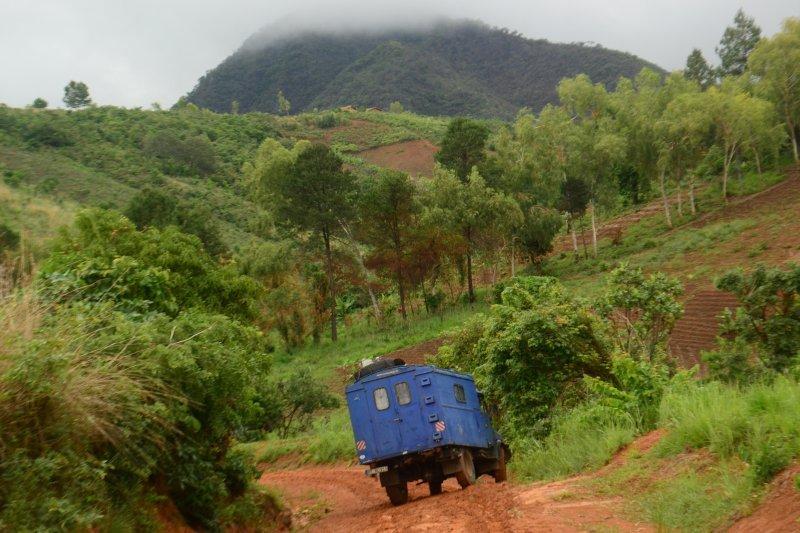 Unsere mehrjährige Reise im Hanomag A-L 28 durch Afrika